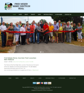 Fred Meijer Berry Junction Trail Launches New Website